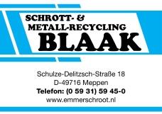 Schrott- und Metallrecycling Blaak
